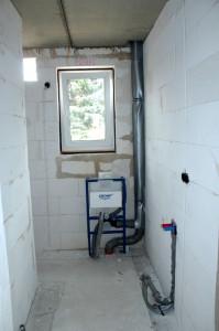 Gäste-WC Installation Sanitär (Bild)