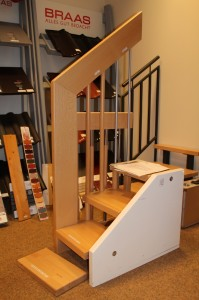 Die Treppe ins erste OG (Bild)